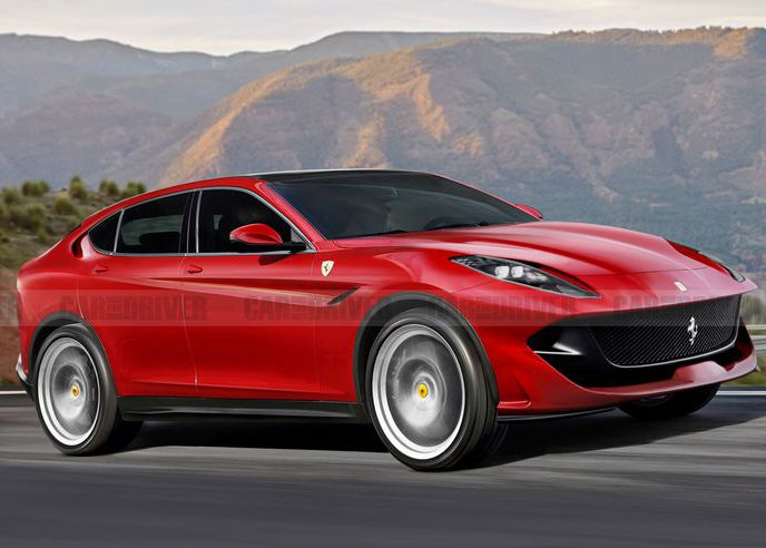 Ferrari's First SUV Should Have More Power Than the Lamborghini Urus